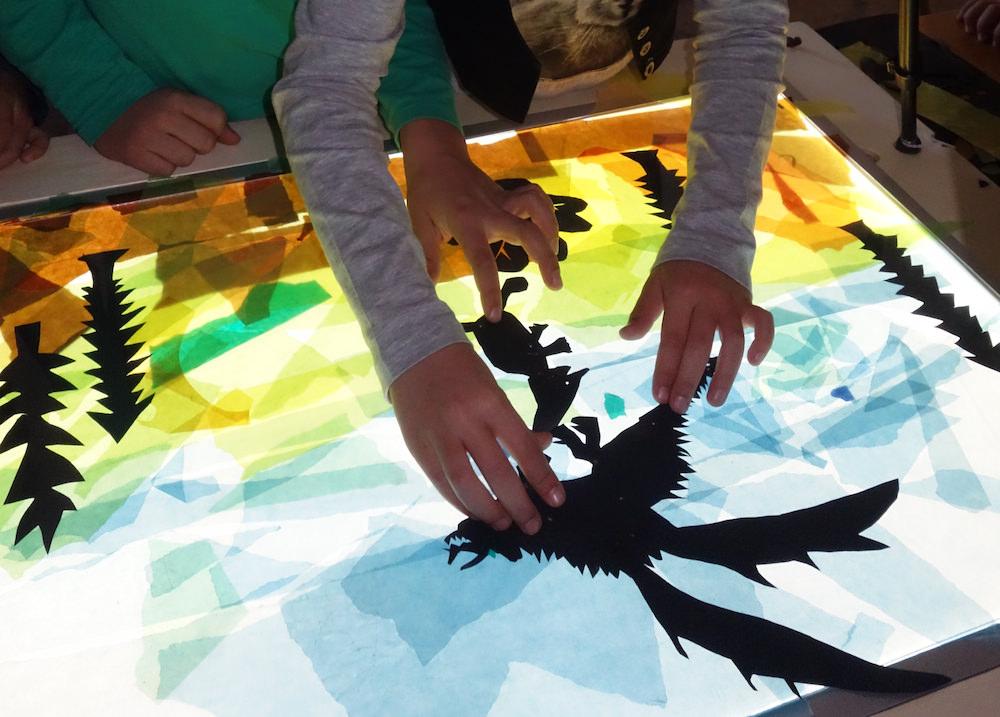 Silhouetten-Trickfilm Workshop